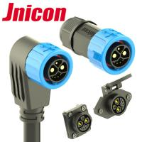 Buy cheap M23 Push Locking 2Power 1Grouding 5Data Connector For E-Vihecles from wholesalers
