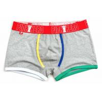 China Fashion High Rise Boxer Briefs , High Stretch Mens Cotton Boxer Shorts wholesale