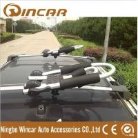 Quality Angle Adjustable Aluminum Folding J Style kayak roof rack carrier used for ROLL Trailer Bike for sale