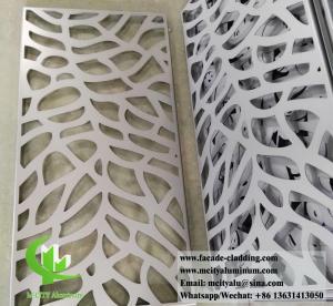 China Architectural facade system Aluminium wall clad panels powder coated exterior use wholesale