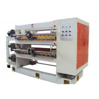 China Automatic Corrugated Cardboard Production Line Helix Cut Off Machine With Rotary Knife wholesale