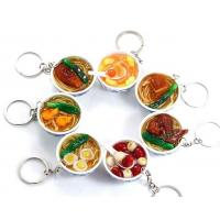 Quality Chinese Food Metal keychain for sale
