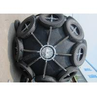 China Sling Type Pneumatic Marine Rubber Fender For Large Ships Chain Tyre Net Available on sale