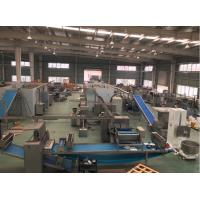 China 800 mm Dough Width Industrial Puff Production Line With Dough Block Laminator wholesale