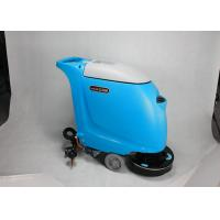 China Custom Battery Type Walk Behind Floor Scrubber Medium Sized With 40L Solution Tank wholesale