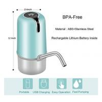 China Lithium Battery Automatic Bottled Water Pump With Food Grade ABS Material wholesale