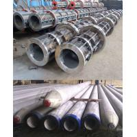 China 700mm / 800mm Concrete Pole Steel Mould , concrete electric poles wholesale
