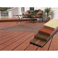 China Moisture Proof WPC Wood Plastic Composite Decking Boards For Outside 2m / 3m / 4m wholesale