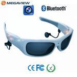 China Blue Frame Outdoor Sport Mini Hidden Camera Glasses High Definition wholesale