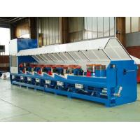 China 15kw Straight Line Wire Drawing Machine For Low Carbon Steel Wire OEM Support wholesale