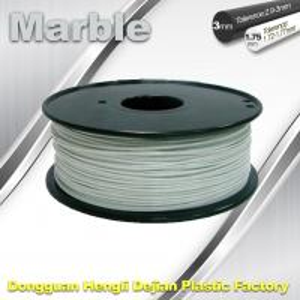 China Marble 3D High Strength Printer Filament 3mm / 1.75mm , Print temperature 200°C - 230°C wholesale
