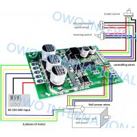 China Overload Protection Brushless DC Motor Driver Board Pure Hardware Built Circuit on sale