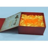 China Electronic Products / Wine Printed Gift Boxes With Plastic Tray 250gram / 300gram wholesale