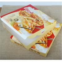 China corrugated carton paper packaging pizza box,cheap wholesale custom logo printed pizza box,Environmental customized 16 in wholesale
