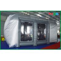 China Waterproof Cutomized Inflatable Air Tent / PVC Inflatable Spray Booth For Car Paint Spraying wholesale