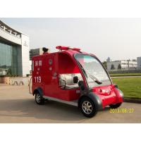 China 48V 4KW 2 seats fire fighting truck/pumper on sale