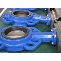 Buy cheap SS316 Wafer Connection Pneumatic Butterfly Valve DN50 ~ DN1600 For Steel from wholesalers