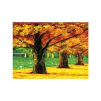 China Hotel Landscap Image 3D Lenticular Printing Service PET Printing Stock Picture wholesale