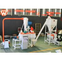 Buy cheap 7.5KW Horizontal Mixing Machine Cattle Feed Plant Machinery 1000kg/H Capacity from wholesalers