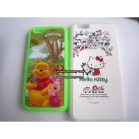 China Custom made Iphone6, Iphone6 plus silicone case with full color printing wholesale