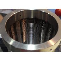 Centrifugal Baskets  Industrial Screens Cylindrical , Conical With Wedge Wire Profile