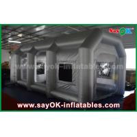 China Mobile Inflatable Air Tent / Inflatable Spray Booth With Filter for car cover on sale