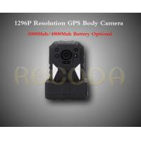 China M505 1296P Resolution Police Body Worn Camera with GPS , 11 hours working time wholesale