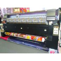 Quality Professional Dye Textile Fabric Sublimation Printer Eco solvent / DX7 Printhead for sale