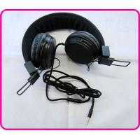 China Black / Blue / Yellow Stereo Colorful Headphones, Hearing Protection Headphones For Mp3 Player wholesale