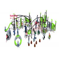 China Omnipotence Rope Climbing Playground Equipment With Item Kinds , Outdoor Climbing Rope Structures wholesale