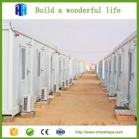 China fast install sandwich panel prefab container house camping house prefab on sale