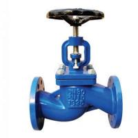 China DIN3356 Carbon Steel Valves / Manual Flanged Angle Cast Iron Globe Valve on sale