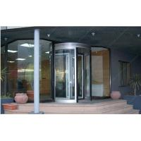 China 12mm Aluminum Alloy Automatic Revolving Door For Hotel ISO9001 wholesale