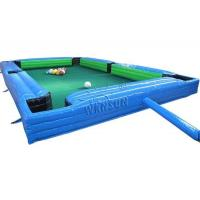 China Inflatable Sport Game/Human Snooker Inflatable Table Game WSP-186 wholesale