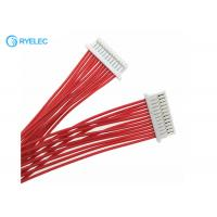 China 12pin 1.0mm Pitch JST SHR-12V-S-B To SHLP-12V-S-B 28AWG Wire Harness on sale