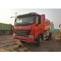 China HOWO Heavy Duty Cement Mixer Truck 10 Wheels Euro IV Standard CCC / ISO wholesale