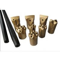 High Hardness Small Hard Rock Drill Bits Tapered Drill Bits For Marble Quarry