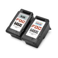 China Recycled 2 - Pack Rebuilt Ink Cartridges For Canon  PG 545XL CL546XL Compatible wholesale
