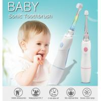 China Baby Care Waterproof Kids Rechargeable Electric Toothbrush With Observing Lamp wholesale