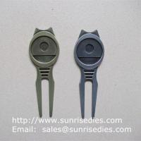 China Golfer Divot tools for repairing pitch mark, Wholesale Metal Golf Divot repair tools wholesale