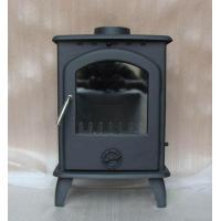 China Artificial indoor wood cast iron fireplace wholesale