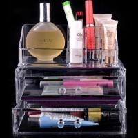 Quality Eco-Friendly acrylic cosmetic holder , Clear acrylic lipstick holder for sale