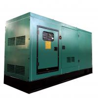 China 60Hz Silent Generator 100KW / 125KVA Cummins Engine Powered Generator wholesale