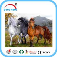 Quality Vivid 3D Lenticular Poster PP PET Large Picture CMYK Printing for Advertising for sale