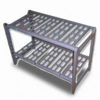 China Two-tier Extendable Plastic Rack with Slot-together Frame, Easy to Assemble wholesale