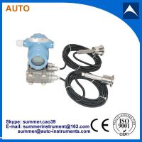 China Remote double clamp intelligent differential pressure transmitter wholesale