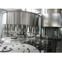 China High Efficiency Drinking Water Bottling Equipment , SUS304 Stainless Steel Liquid Filling Machine wholesale