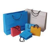 China High quality different shape design cosmetic paper bag, cosmetic shopping bag wholesale