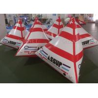 China Water Triathlons Inflatable Swimming Buoy For Advertising Lightweight wholesale