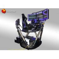 China Motion 6 Dof 9D Simulator Coin And Wechat Operated / Arcade Car Racing Games on sale